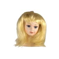 Волосы для кукол  (прямые) светлые